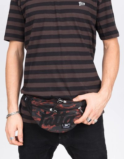 Patta Tiger Stripe Lbn Waistbag Camo