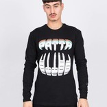 Patta Longsleeve T-Shirt Big Teeth Black