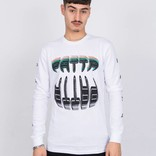 Patta Longsleeve T-Shirt Big Teeth White