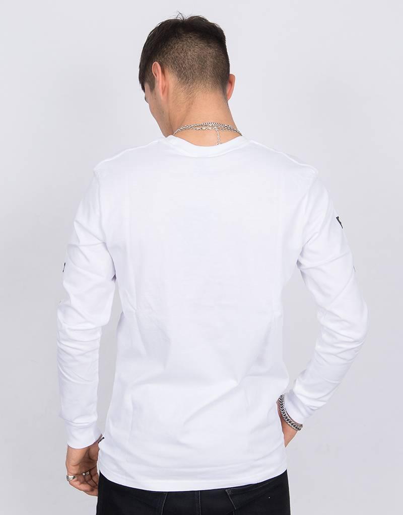 Patta Longsleeve T-Shirt Big Teeth White