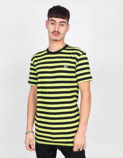 Patta T-Shirt Striped Acid Lime