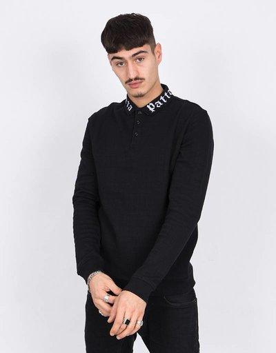 Patta Crewneck Patta Collar Black