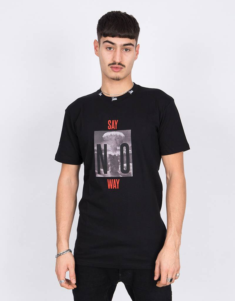 Patta Say No Way T-Shirt Black