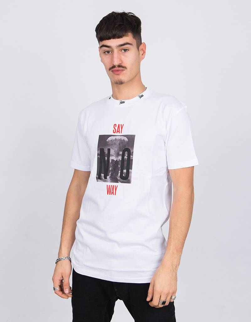 Patta Say No Way T-Shirt White