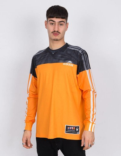 adidas Originals by Alexander Wang Photocopy Longsleeve Tacticle Yellow