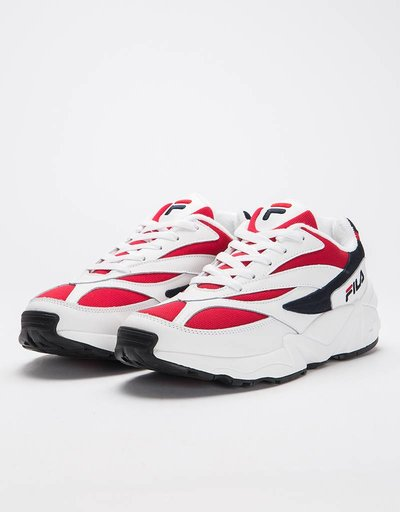 Fila v94 Low White/Fila Navy/Fila Red