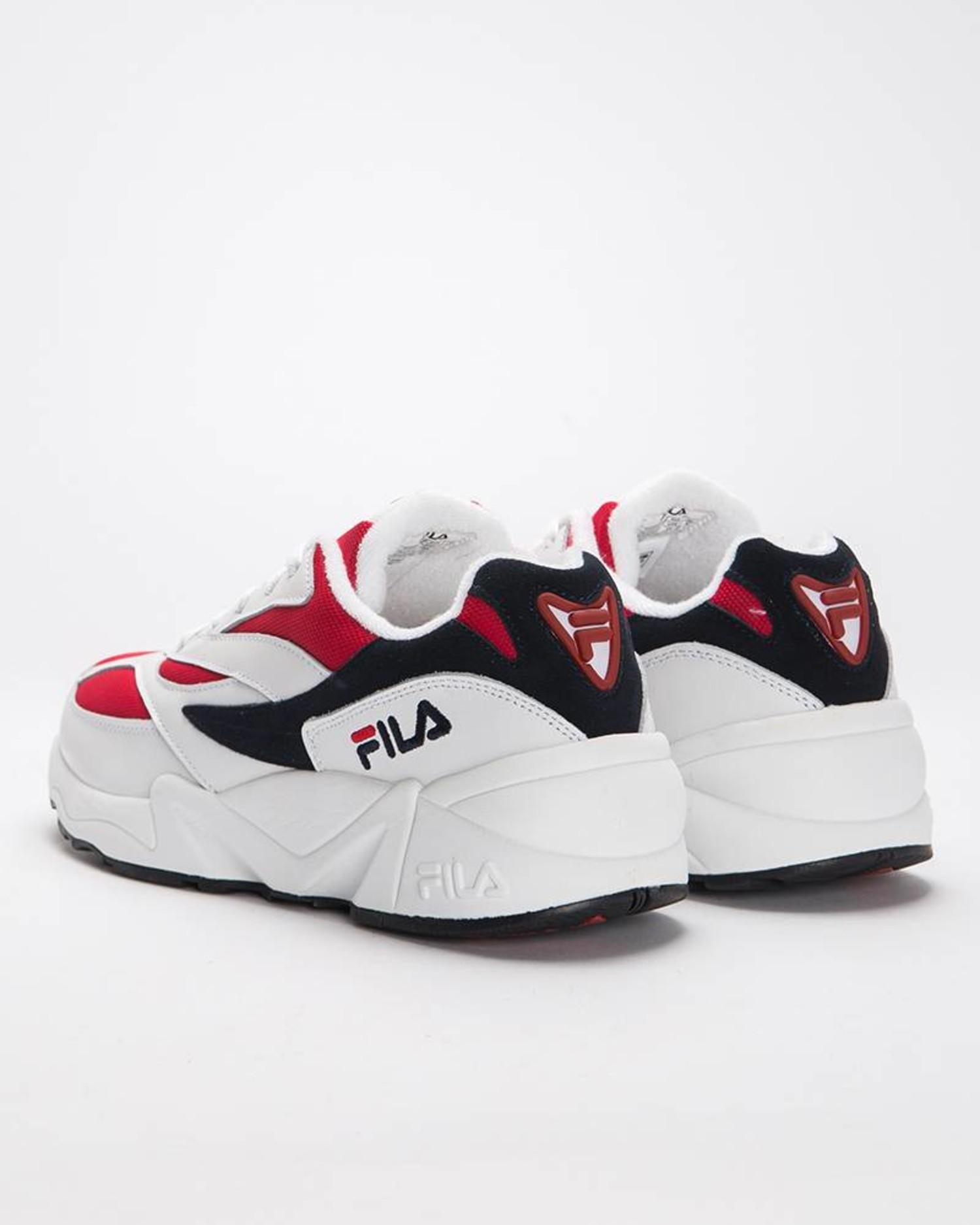Fila v94 Low White/Fila Navy/Fila Red