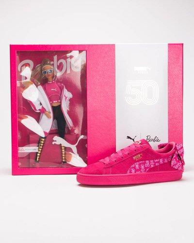Puma x Barbie Suede Classic and Doll