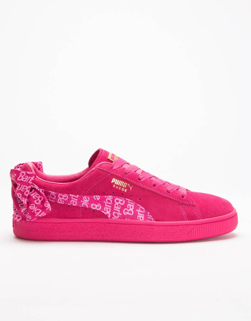 Puma x Barbie Suede Classic and Doll Raspberry Pink