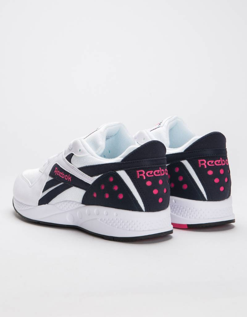 Reebok Pyro White/Night Navy/Pink Fusion