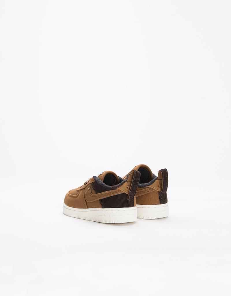 Nike x Carhartt WIP Boys Force 1 (TD) Ale Brown/Ale Brown-Sail