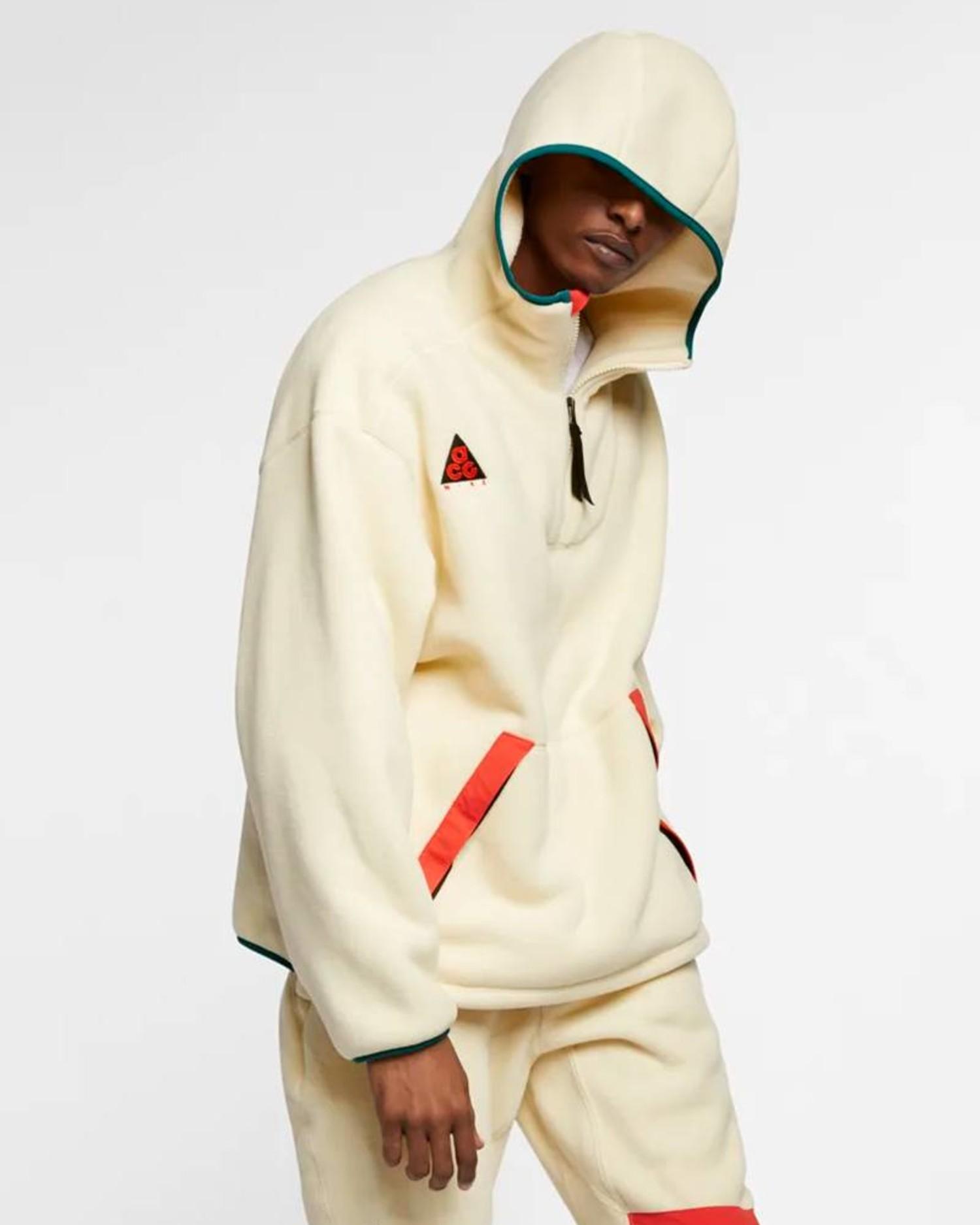Nike ACG Sherpa Flc Hood Lghtcm