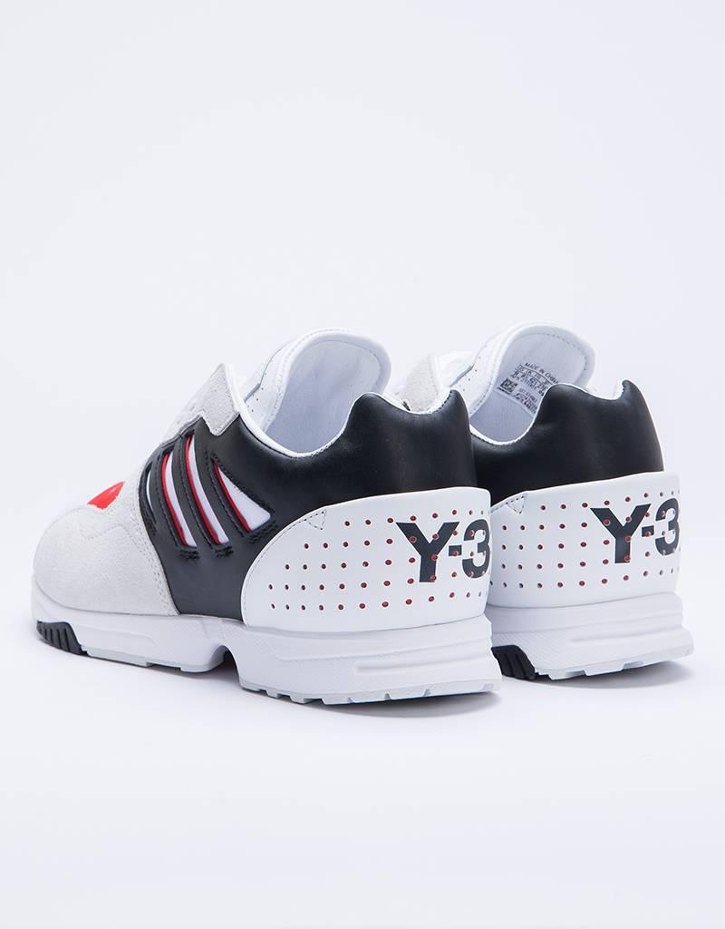 Adidas Y-3 ZX Run Ftwr White/Black Y-3 /Red