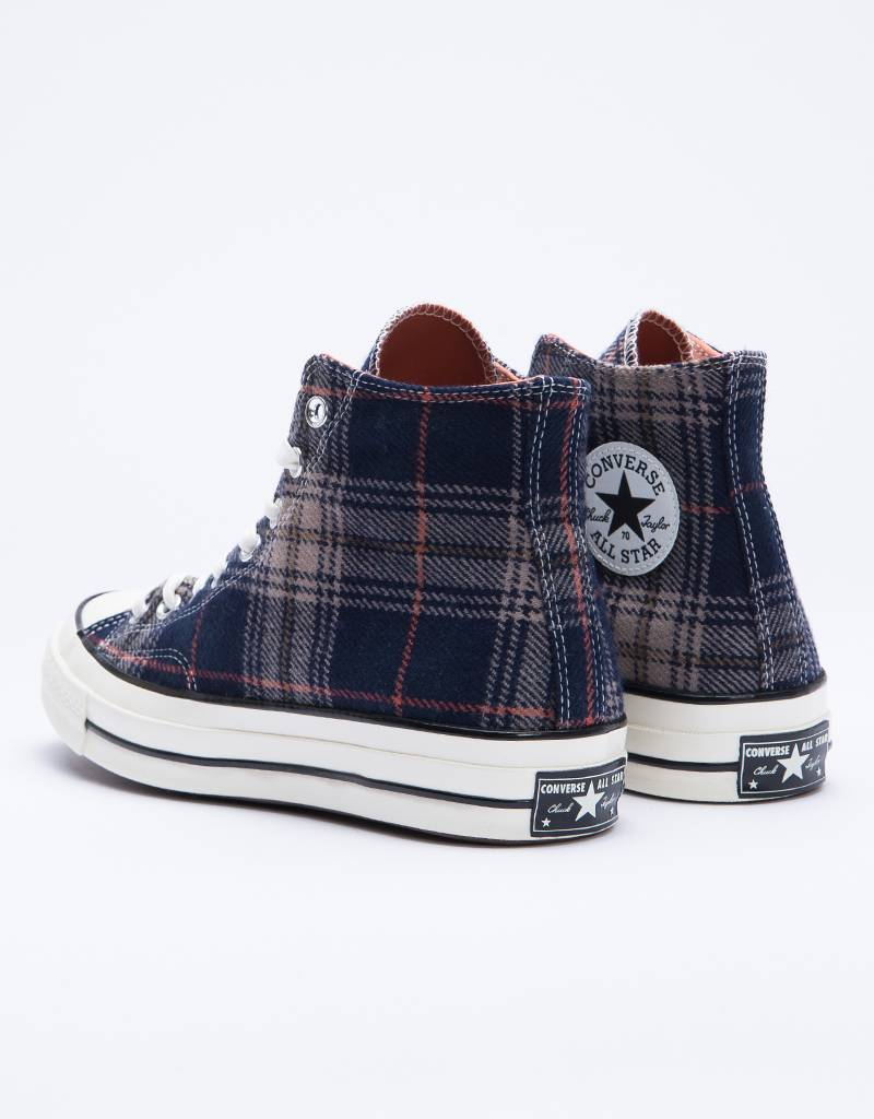 Converse Chuck 70 Hi Navy/Terracotta Red/Egret Slate Blue