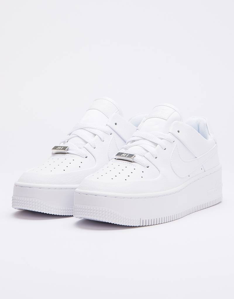 cheap for discount 543ff bf332 Nike Air Force 1 Sage Low white white-white ...
