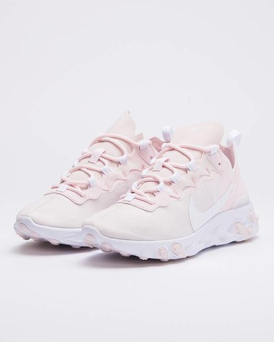 Nike Womens React Element 55 pale pink/white-white-pale pink