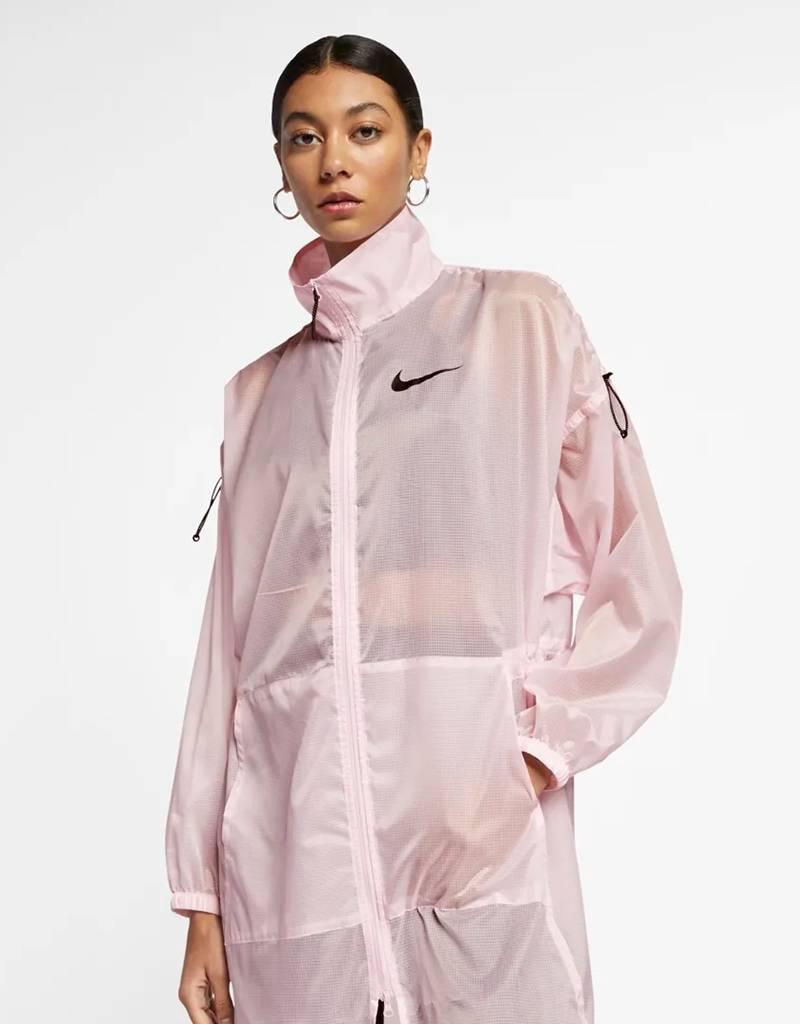 Nike Women's Sportswear Essential Jacket Woven Pink Foam/Black