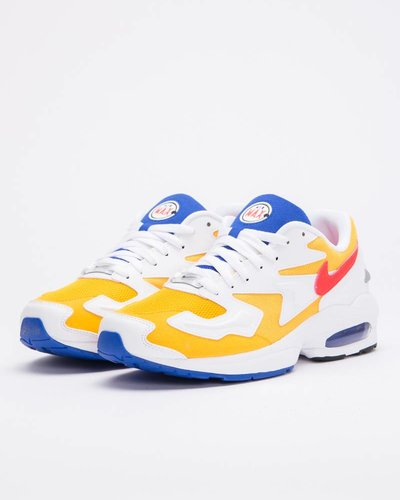 Nike AIR MAX2 LIGHT university gold/flash crimson-racer blue