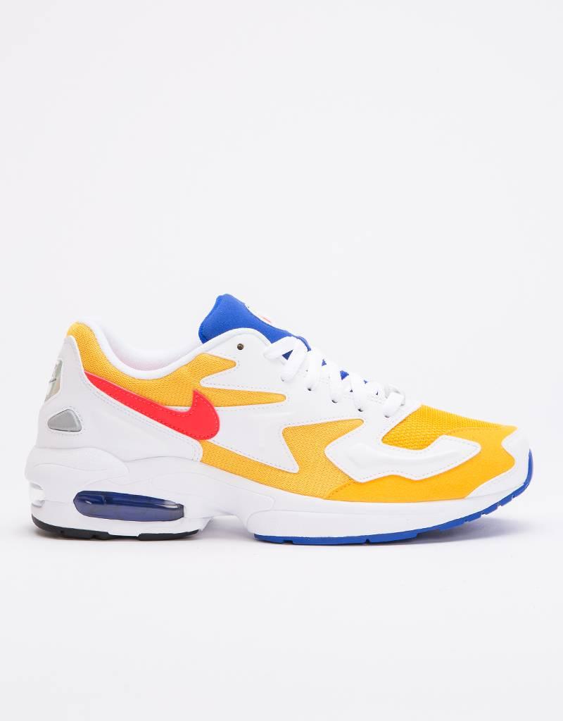 Nike AIR MAX2 LIGHT university gold/flash crimson-racer blue