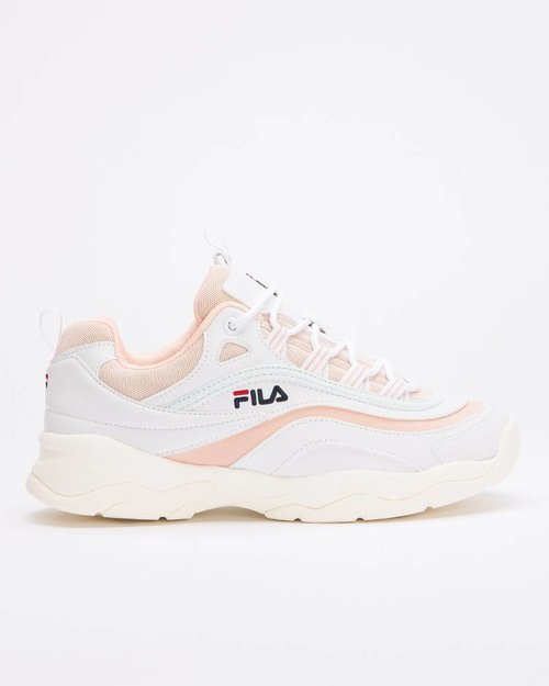 Fila Fila Ray Low White/Spanish Villa/Morning mist