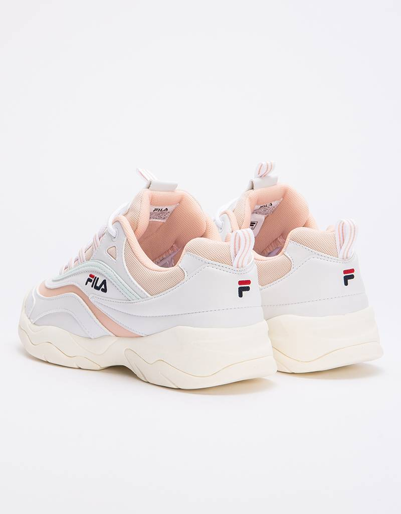 Fila Ray Low White/Spanish Villa/Morning mist