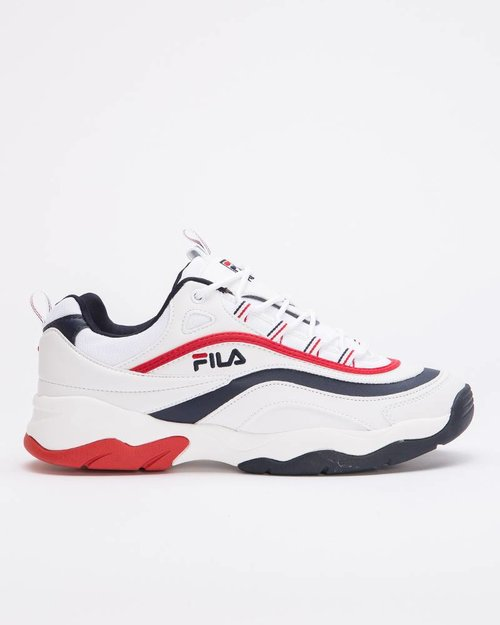 Fila Fila Ray Low F White/Fila Navy/Fila Red