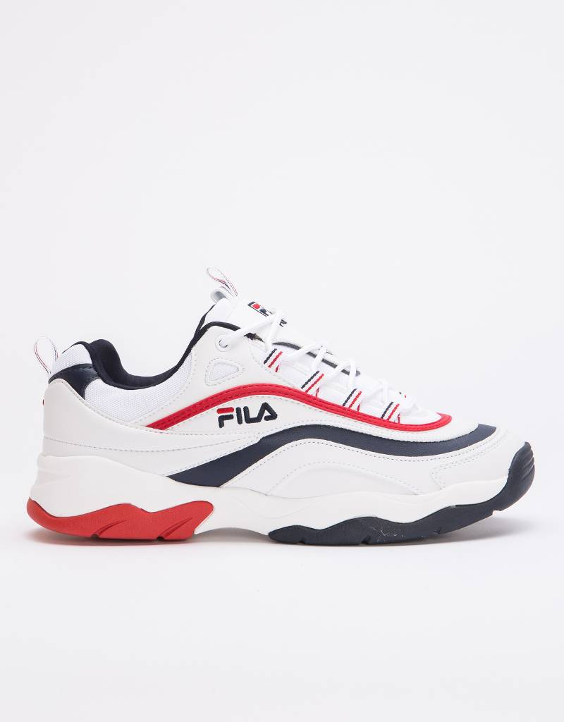 Fila Ray Low F White/Fila Navy/Fila Red