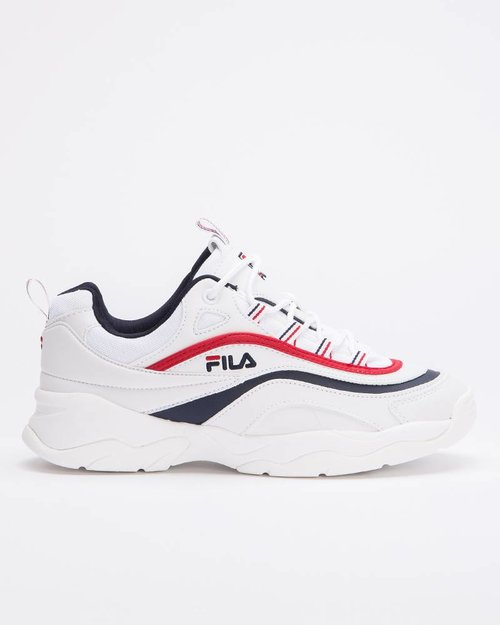 Fila Fila Ray Low White/Fila Navy/Fila Red