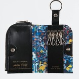 Medicom Toys x Jackson Pollock Studio Key & Coin case by PORTER