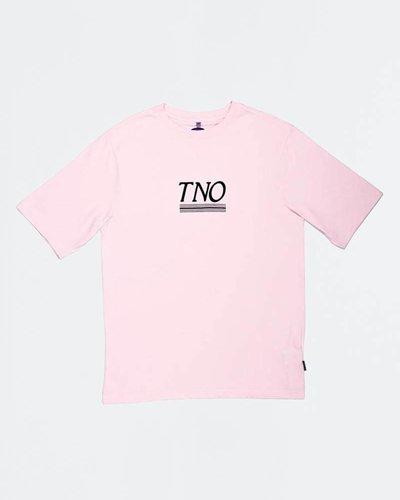 The New Originals Underline Tee Pink/Blue