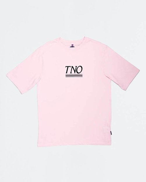 THE NEW ORIGINALS The New Originals Underline Tee Pink/Blue