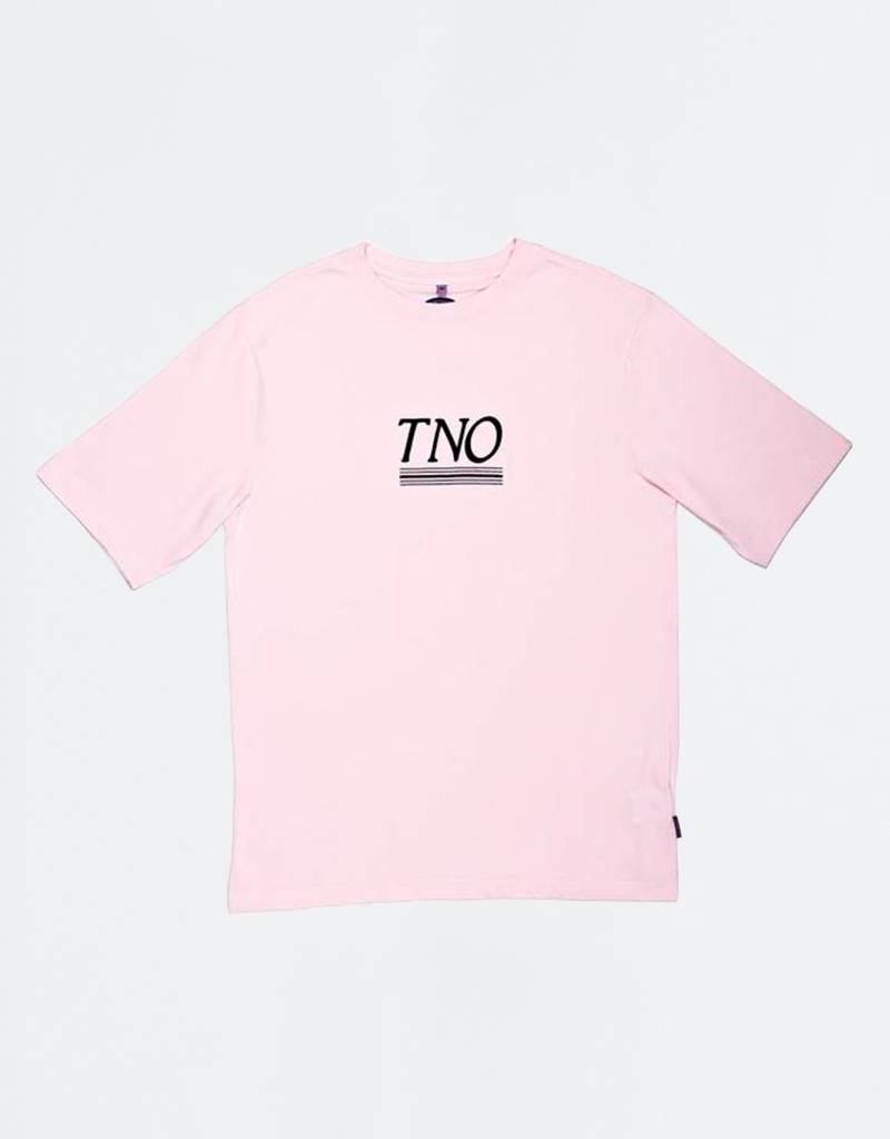 The New Originals Underline Tee Pink/Blue