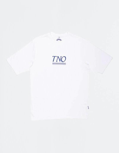The New Originals Underline Tee White/Blue