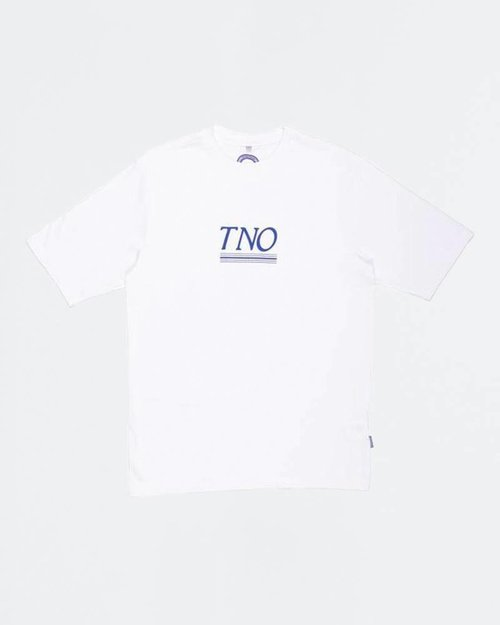 THE NEW ORIGINALS The New Originals Underline Tee White/Blue