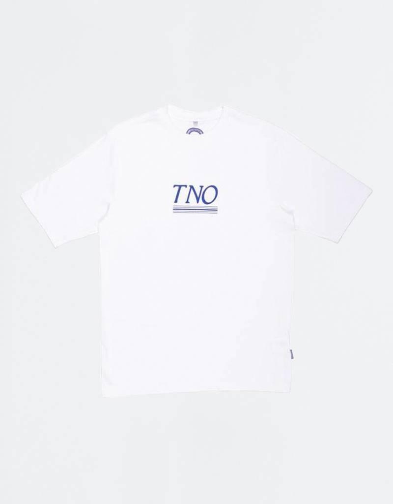 The New Originals Underline Tee White/Blue
