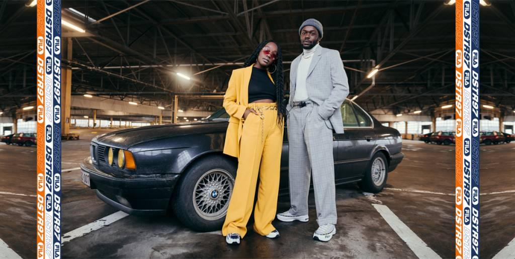 De Fila Dragster: Ford Mustang van de sneakergame