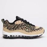 Nike Womens Air Max 98 Premium Desert Ore/Volt Glow-Black-Wheat