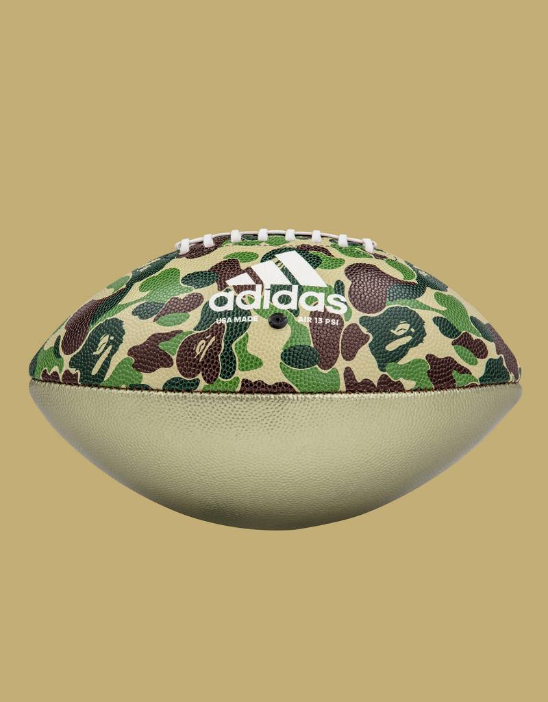 Adidas X Bape Rifle Football Multicolor