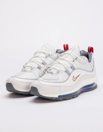 056580d67b8 Nike Air Max 98 Summit white metallic silver