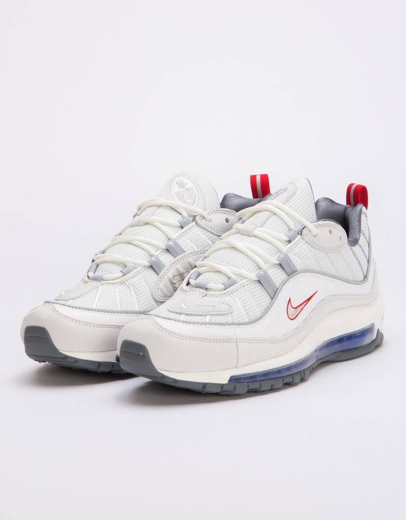 Nike Air Max 98 Summit white/metallic silver
