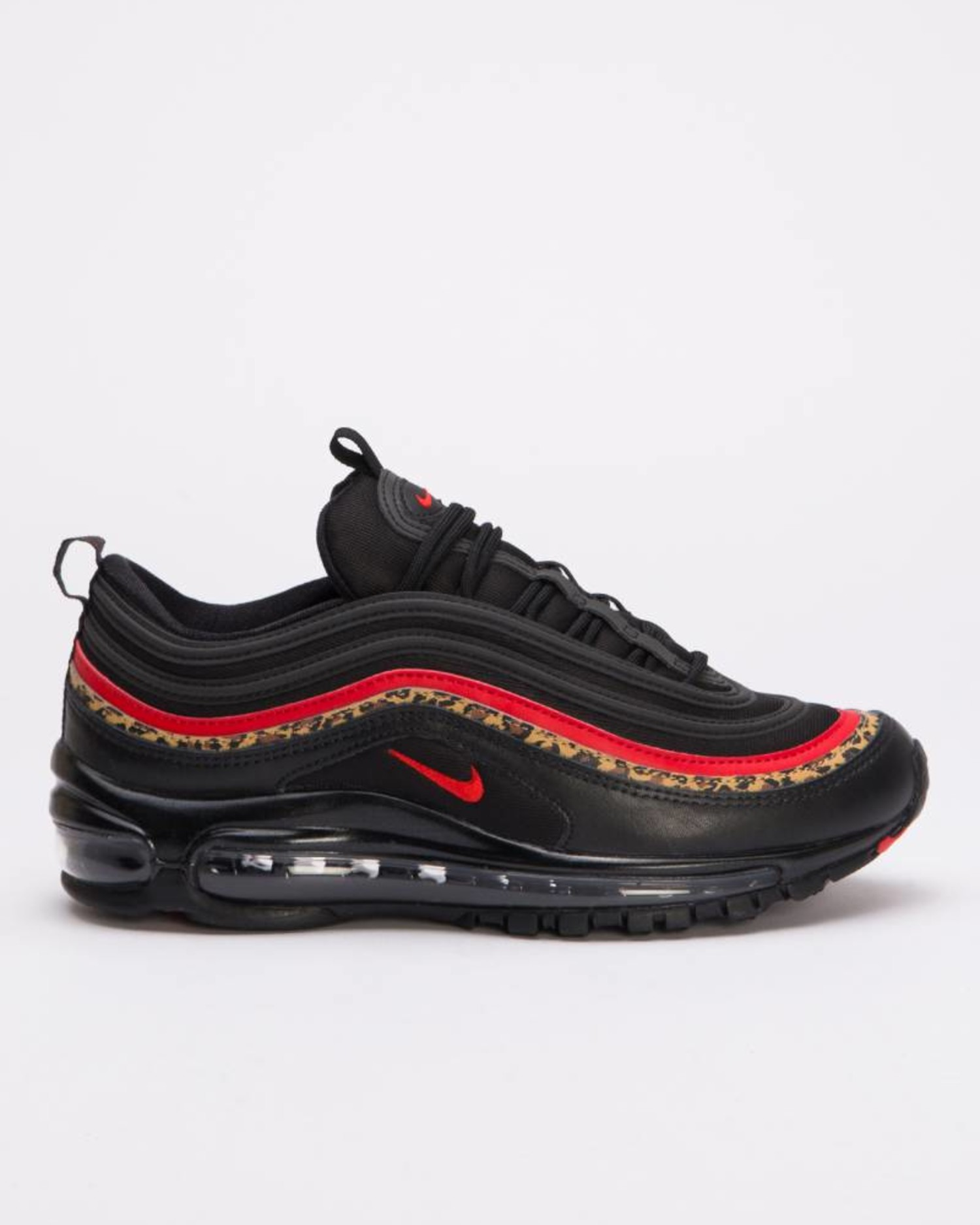 release date: 8cd2a 40ab9 Nike Women's Air Max 97 Black/ University Red-Print
