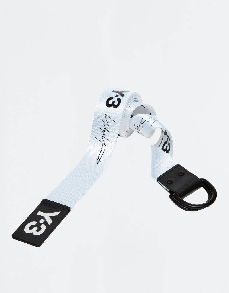 adidas Y-3 Yohji Belt Black/White
