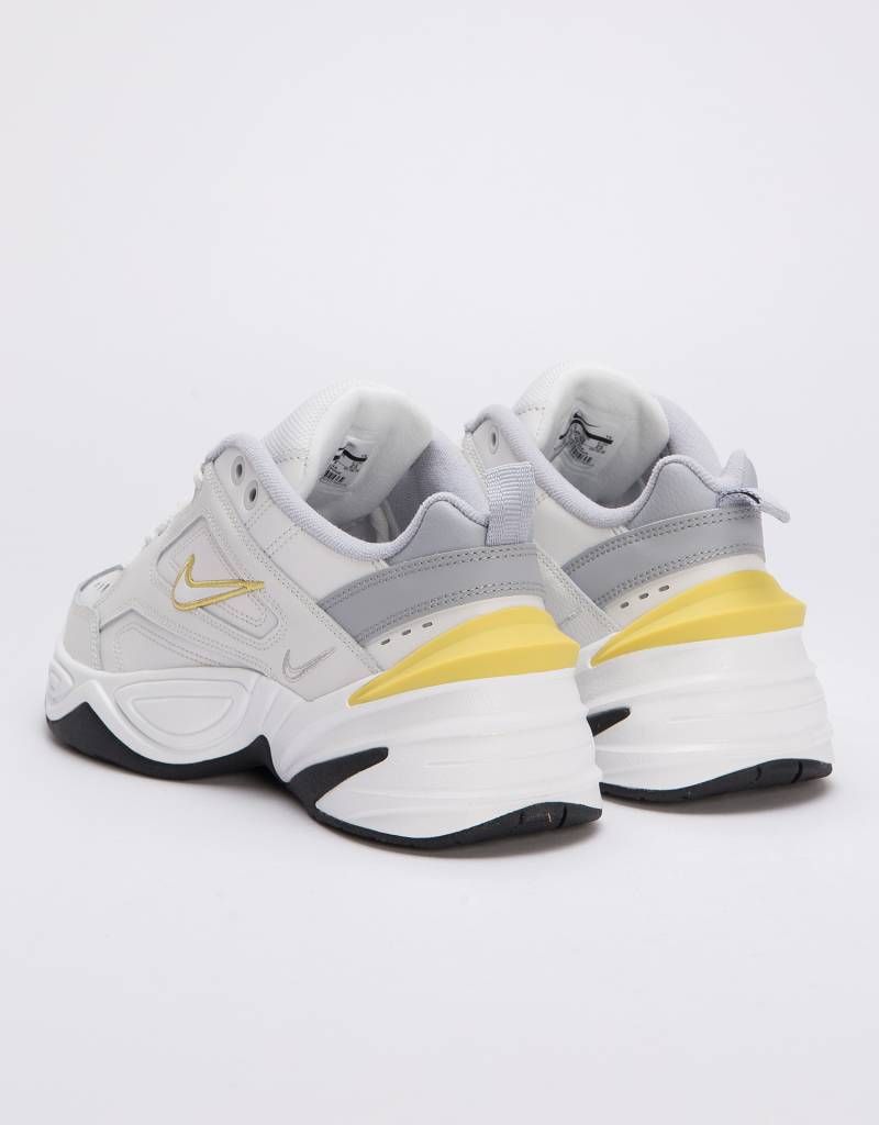Nike Women's M2K Tekno platinum tint/celery-wolf grey