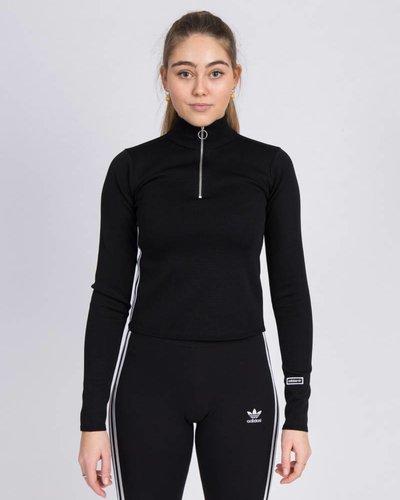 adidas Originals Womens Tracktop Black