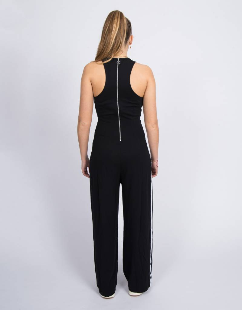 d598f72b28d0 adidas Originals Womens Shortsleeve Jumpsuit Black - Avenue Store