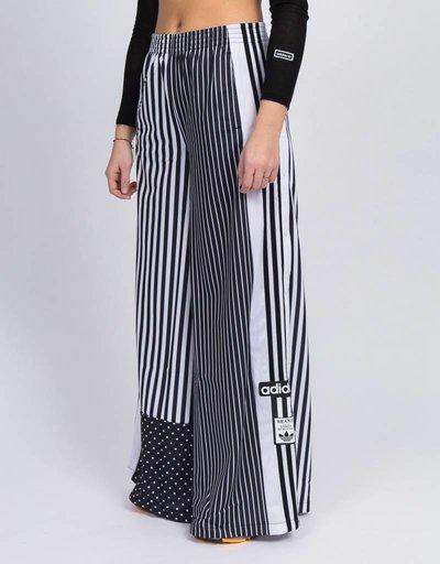 Adidas track pants         black/white