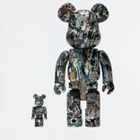 BE@RBRICK Jackson Pollock Studio #2 100% + 400%