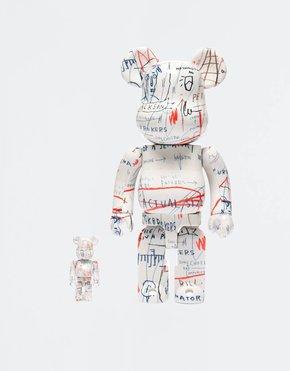 MEDICOM TOY BE@RBRICK Basquiat #2 100% + 400%