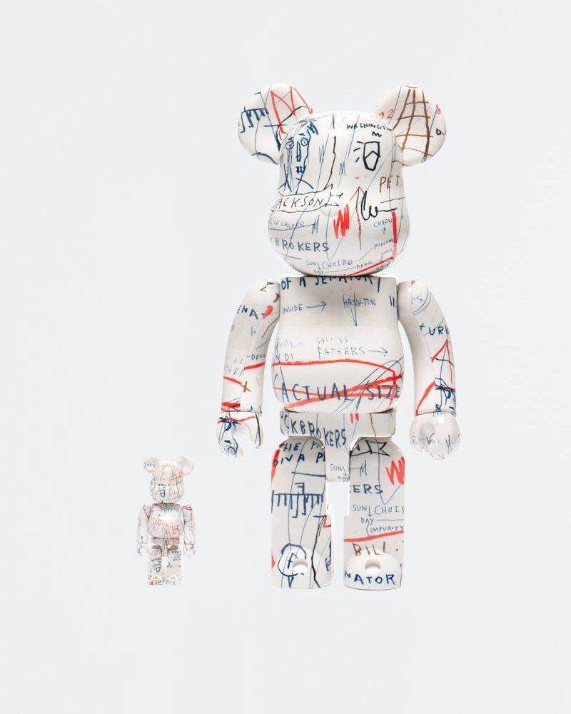 MEDICOM TOY BE@RBRICK Basquiat #2 100% + 400%