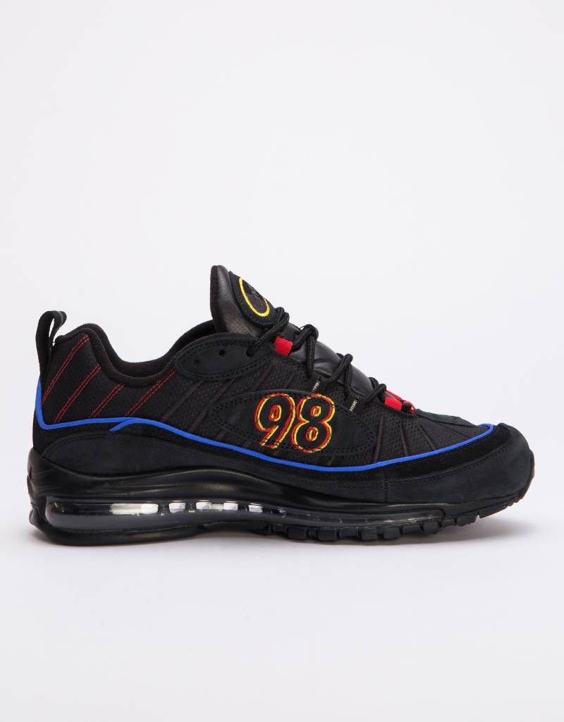 Nike Air Max 98 Black/black-amarillo-university red